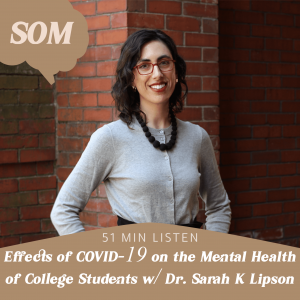 Students of Mind Guest Dr. Sarah K. Lipson